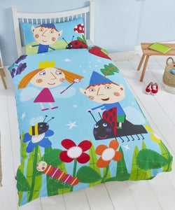 Ben & Holly Licensed Single Quilt Cover Set