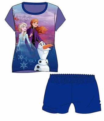FROZEN 2 Summer Pjs Pyjama 7/8 left