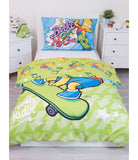The Simpsons Bart Single Quilt Cover Set EURO CASE