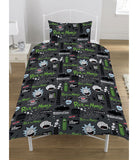 Rick and Morty Single Quilt Cover Set