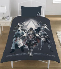 Assassin's creed Single Quilt Cover Set