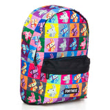 Fortnite Licensed Backpack Colourful Llama 40cm