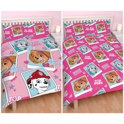 PRE ORDER JUNE Double to queen Quilt Cover Set - Paw Patrol Skye