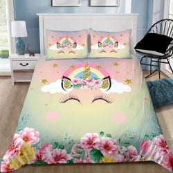 PRE ORDER Unicorn Colourful Quilt Cover Set