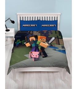 COMING SOON Minecraft Double to Queen Quilt Cover Set