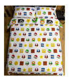 SUPER MARIO Double to Queen Quilt Cover Set - POLYESTER
