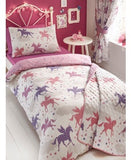 Unicorn Double to queen Quilt Cover Set