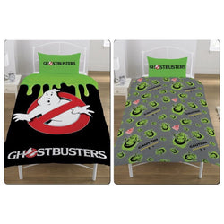 PRE ORDER Ghostbusters Glow in the dark Single Quilt Cover Set