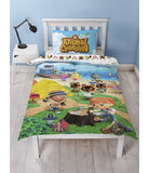 Animal Crossing Single Quilt Cover Set