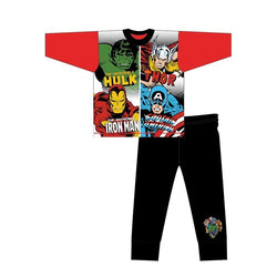 Avengers Marvel Comics Winter Pjs Pyjama 5/6 left