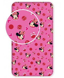 PRE ORDER MINNIE Single fitted sheet ONLY