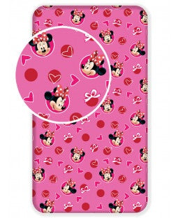 MINNIE Single fitted sheet ONLY