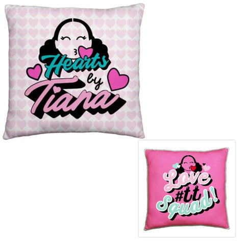 Licensed Cushion Heart by Tiana Chic