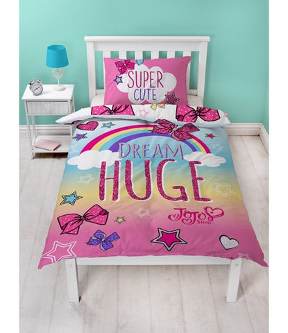 Jojo Siwa Single Quilt Cover Set Jo jo