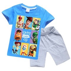 Toy Story outfit BLUE (Skinny waist shorts)