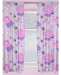 PRE ORDER Peppa Curtains 72 inch drop