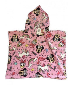 Hooded towel - Minnie Mouse
