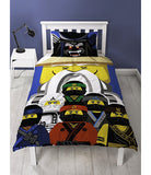 Lego Ninjago Movie Single Quilt Cover Se
