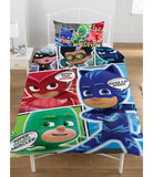 Pj Masks Single Quilt Cover Set