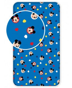 MICKEY Single fitted sheet ONLY