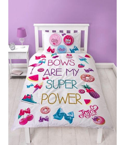 PRE ORDER Jojo Siwa Single Quilt Cover Set Jo jo