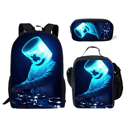 MARSHMELLO 3 piece backpack set
