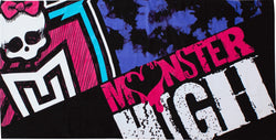 MONSTER HIGH Towel
