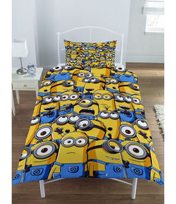 Minions Despicable Me Single quilt cover set