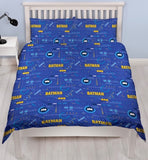 Batman Tech Licensed Double to Queen Quilt Cover Set POLYESTER