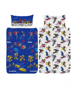 Transformers Roll Out Single Quilt Cover Set