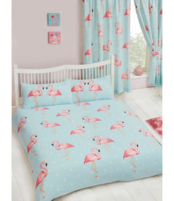 FLAMINGO Double to Queen Quilt Cover Set