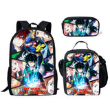 MY HERO ACADEMIA ~ ANIME ~ 3 Piece Backpack Set (Cooler bag, Pencil Case)