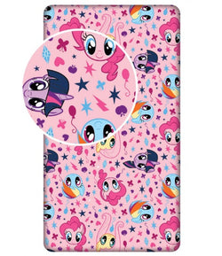 MY LITTLE PONY Single fitted sheet ONLY