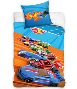 Hot Wheels Cotton Single quilt cover set EURO Case