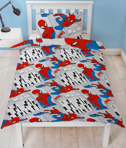 Spiderman Single Quilt Cover Set POLYESTER