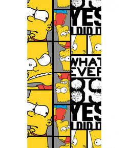 The Simpsons Bart Towel