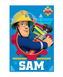 PRE ORDER Fireman Sam Throw Size Fleece Blanket