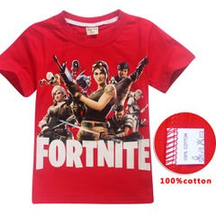Fortnite tshirt - tee only - Red