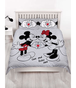 Minnie Mouse Double to Queen Quilt Cover Set