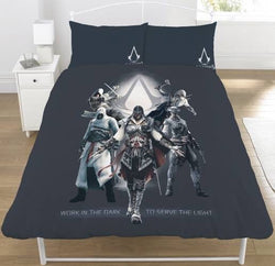 Assassin's creed Double to queen Quilt Cover Set