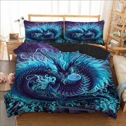 Dragon Quilt Cover Set DOUBLE ONLY