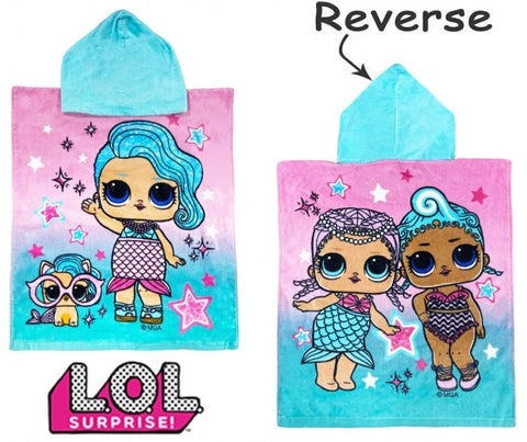 Hooded towel - Lol Dolls Splash