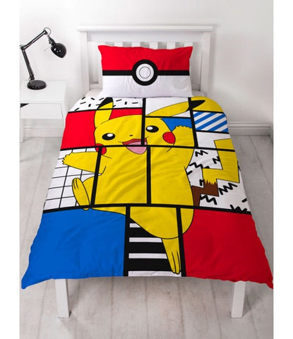 PRE ORDER Pokemon Single Quilt Cover Set