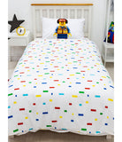 Lego City Hello Single Quilt Cover Set