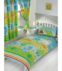 PRE ORDER Dinosaur - Toddler Bed/Cot Quilt Cover Set