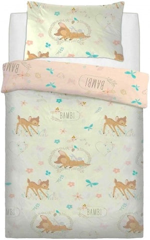 "Bambi Baby ""Reversible"" Single Quilt Cover Set"