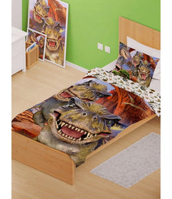 Dinosaur Dino Single Quilt Cover Set