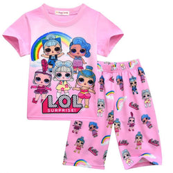 LOL Dolls Summer Pjs - Light size 3 left