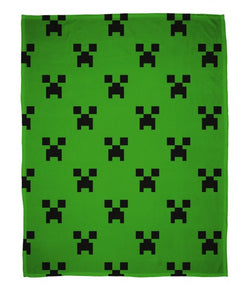 Licensed Minecraft Throw Size Fleece Blanket (SUPER SOFT)