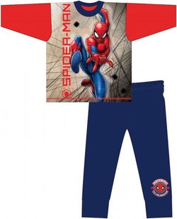 Spiderman Winter Pjs Pyjama 7/8 left